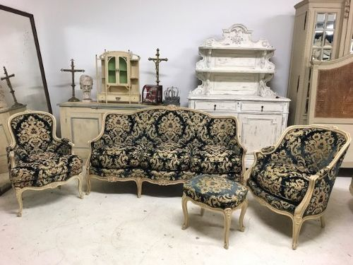 Lovely  French Sofa Set - Items available separately - SOLD